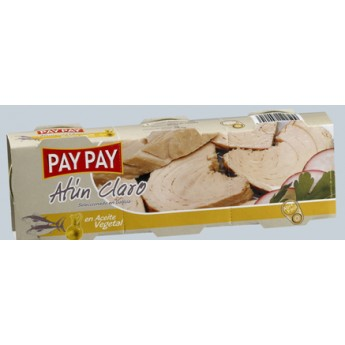 "ATUN CLARO AC. ""PAY-PAY"" RO.85 PACK-3"