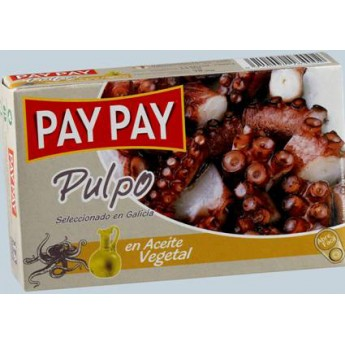 """TACOS PULPO ACEITE """"PAY-PAY"""" OL-120"""