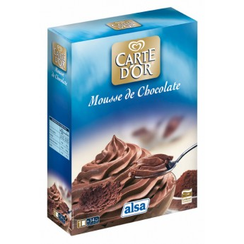 "MOUSSE CHOCOLATE ""CARTE DOR"""