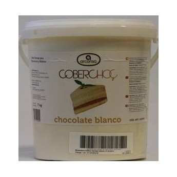COBERCHOC CHOCOLATE BLANCO 7 KGS.
