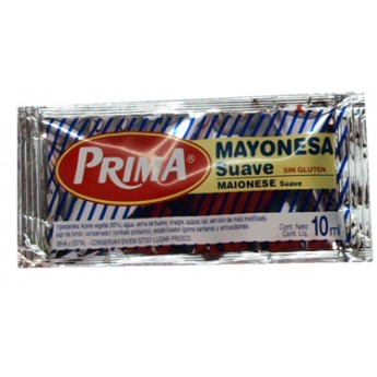"MAYONESA ""PRIMA"" 10 ML. 270 UDS."